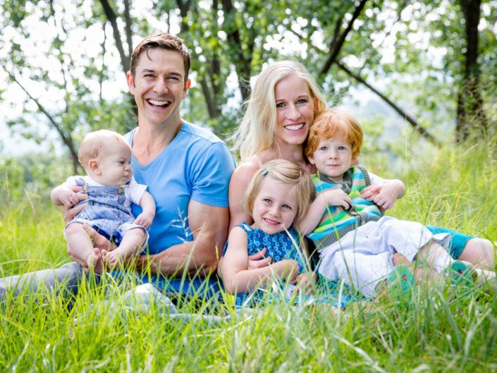 The Hatfield family