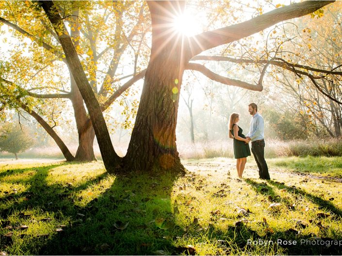 An Autumn Maternity shoot – bathed in light